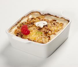 Recept Gratinované kuřátko s houbami od Vorwerk vývoj receptů - Recept z kategorie Hlavní jídla - maso