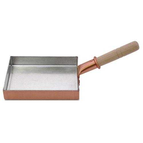 包丁 販売 日本橋木屋 味051 木屋 銅製玉子焼鍋 角長型