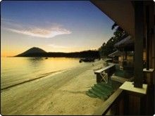 Bastianos Bunaken Diving Resort. Beachfront resort in the centre of a diving paradise in Sulawesi, Indonesia.