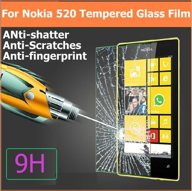 """>> Click to Buy << Price reduction 0.33mm 2.5D 9H For NOKIA Lumia 520 520i 525 526 4"""" Premium Tempered Glass Anti-shatter LCD Screen Protector Film #Affiliate"""