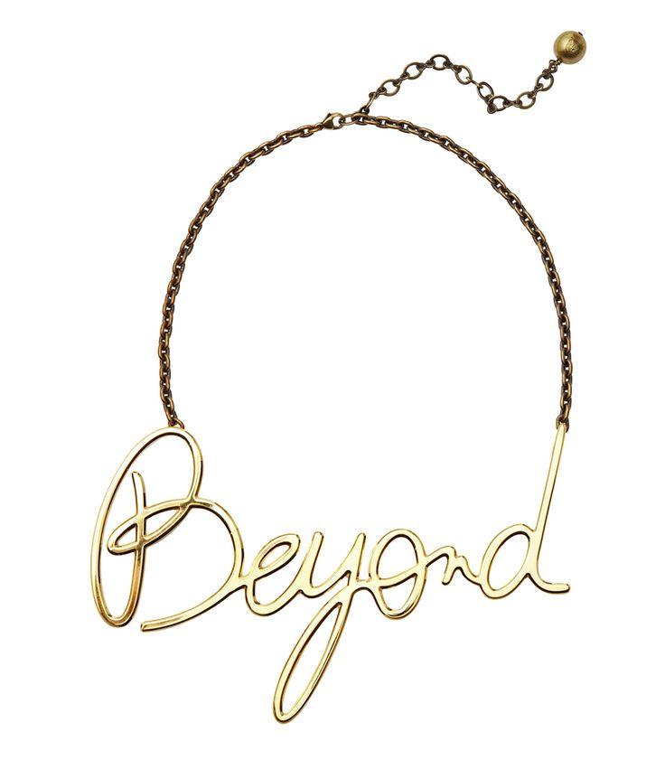 Lanvin Beyond Necklace Gold NhnmZJHp