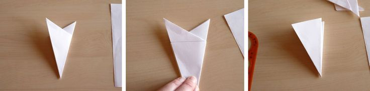Best 25 flocon en papier ideas on pinterest flocons de - Flocon de neige en papier pliage ...