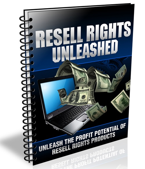 """""""Discover How You Can Make Money Online and FINALLY Unleash The Profit Potential of Resell Rights Products!"""" only $7.45"""