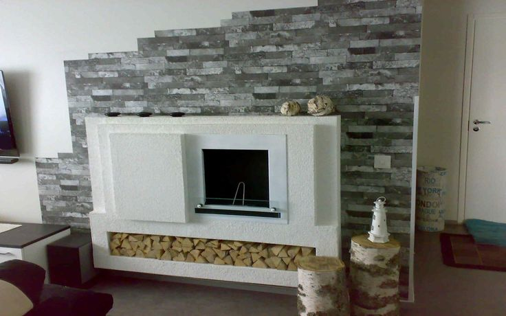 Fireplace is finished in the spring 2015