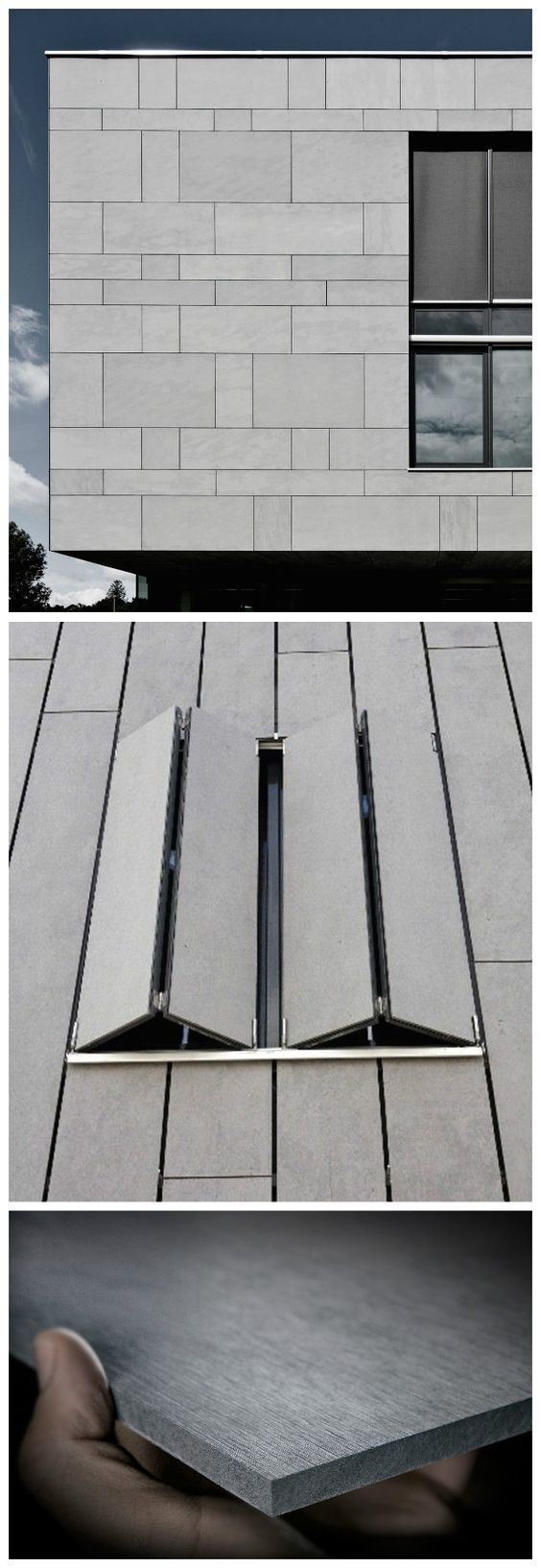 Architectural Cement Board : Best images about fibre cement on pinterest facade