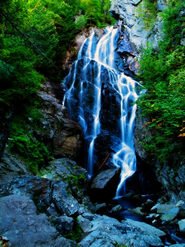 Angels Falls, Rangeley maine