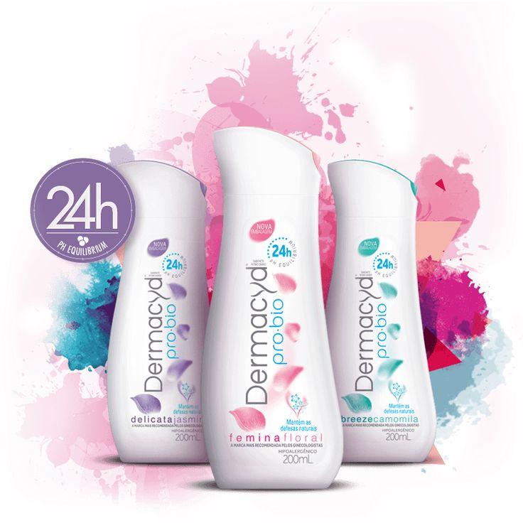 Dermacyd® pro•bio 24h