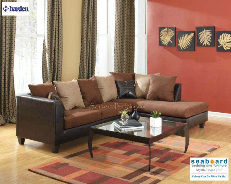 laramie trapper black or trapper brown sectionals new this spacious sectional sofa has a