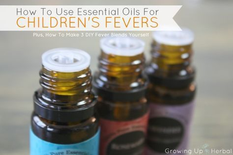 If the time comes to lower your toddlers fever, here are 4 natural, herbal remedies that can help safely and effectively.
