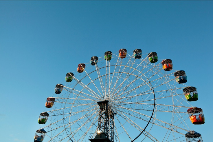 Ferris wheel at the 2012 Sydney Royal Easter Show
