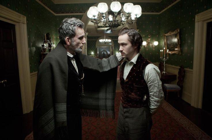 LINCOLN, Daniel Day-Lewis, Joseph Gordon-Levitt 2012 | Essential Film Stars, Daniel Day-Lewis http://gay-themed-films.com/film-stars-daniel-day-lewis/
