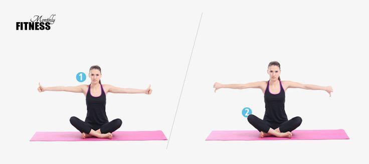 Seated Arm Circle - ince kol egzersizleri