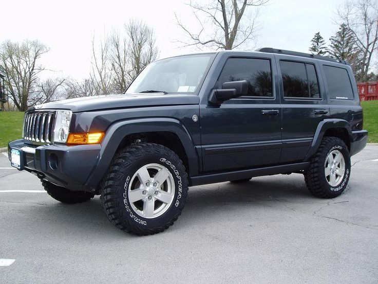 Lifted Jeep Commander | Showme your lifted XK