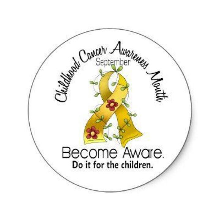 September is childhood cancer month