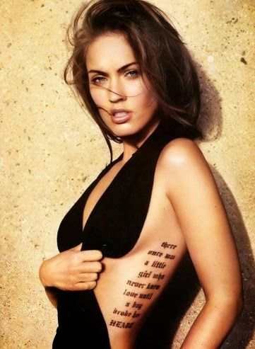 Tattoos for Women Megan Fox