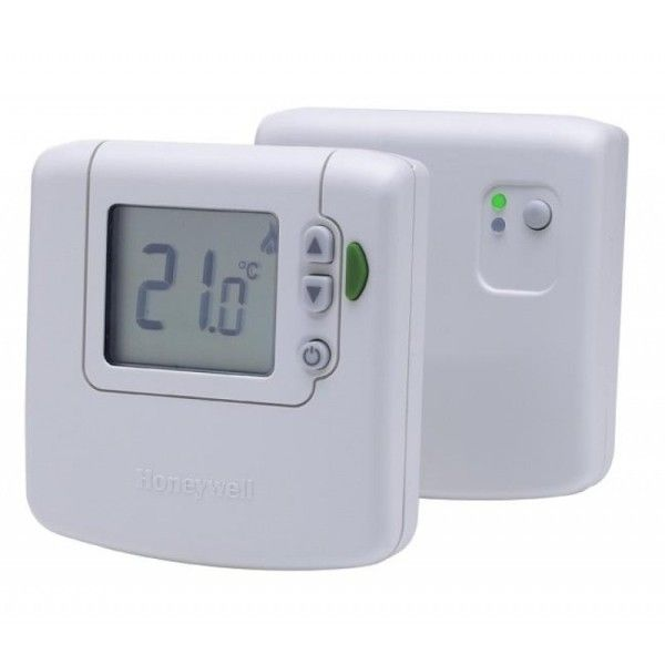 Honeywell Wireless Digital Thermostat Kit. Wireless Thermostat for Single-Zone heating systems.