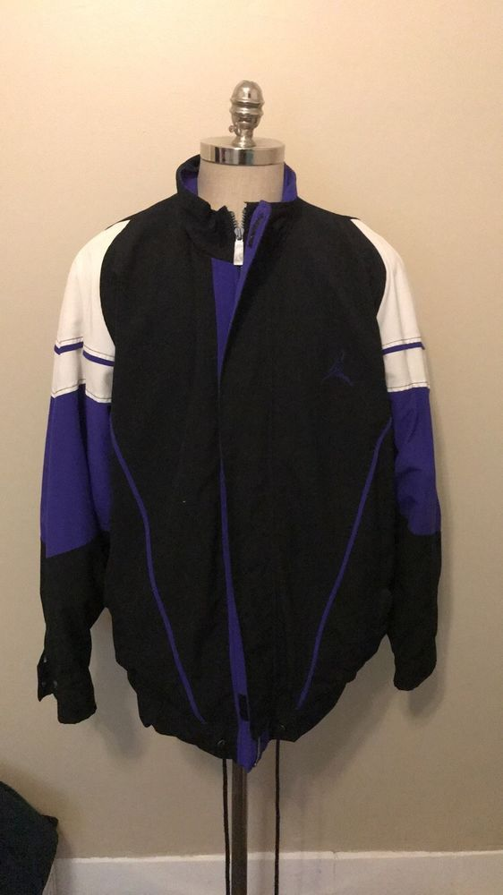 new styles 9a8a7 329ce Vintage Nike Air Jordan Jacket Coat Grape 5 Men s Size XL 1990 90s VTG   fashion  clothing  shoes  accessories  vintage  mensvintageclothing (ebay  link)