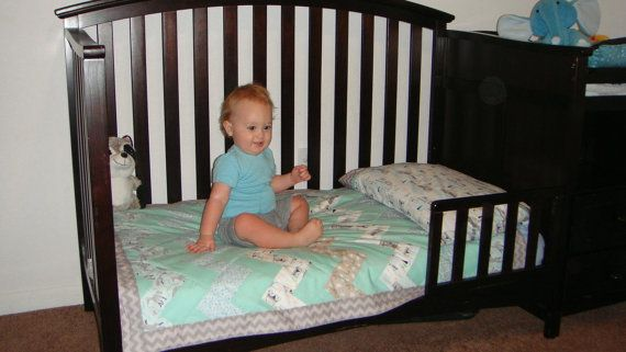 Baby/Toddler Indian Summer Quilt  -  You choose the fabric -  Matching Curtains and Pillow Case available - Payment Plan accepted on Etsy, $120.00