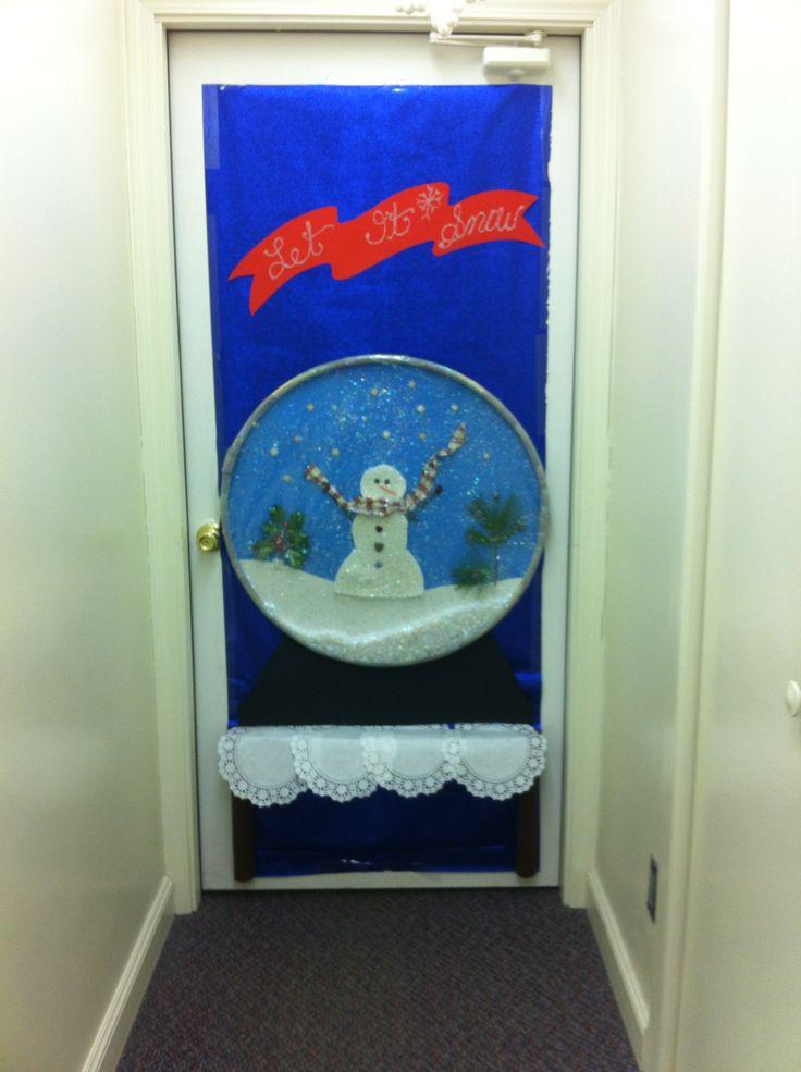 Classroom Christmas Door Decorating Contest Ideas