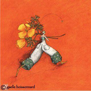 I like her work by Gaelle Boissonnard