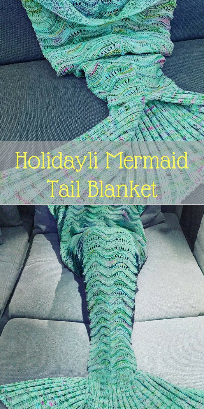 Holidayli Mermaid Tail Blanket. A beautiful cable knitted pattern to complement your living room or bedroom decor.    Amazon    Blankets and throws, mermaid, mermaid party, blanket ideas, Bedroom ideas, Bedroom ideas Master, Bedroom ideas For women, Bedroom ideas Grey, Bedroom ideas For couples, Bedroom decor, Bedroom decor For couples, Bedroom decor Ideas, Bedroom decor Master, Bedroom decor grey, Home decor, Home decor Ideas, Home ideas, Home design, Home design inspiration