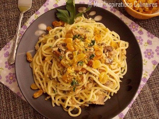 Spaghetti à la Sicilienne