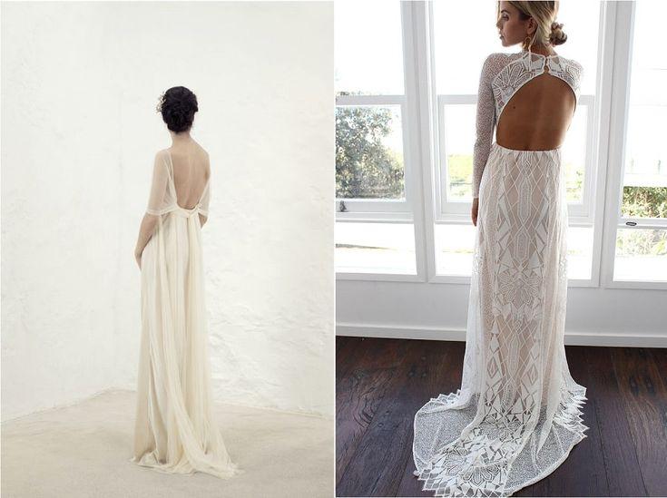 Les dos nus, que c'est sensuel ! Depuis que c'est la mode pour les tenues de mariée, on en voit partout et j'avoue que j'adore cette tendance ! ma sélection de 10 robes de mariée dos nus à retrouver sur le blog