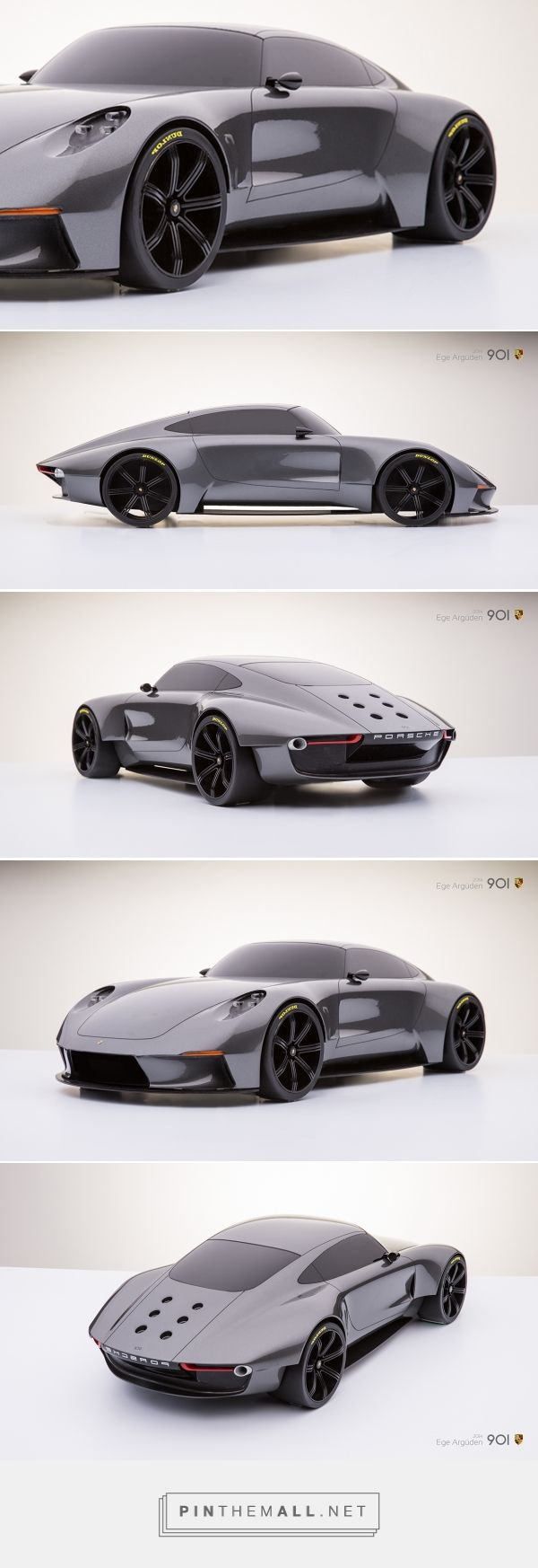 This Retro Inspired Concept Might be the Most Beautiful Porsche Ever! - created via http://pinthemall.net