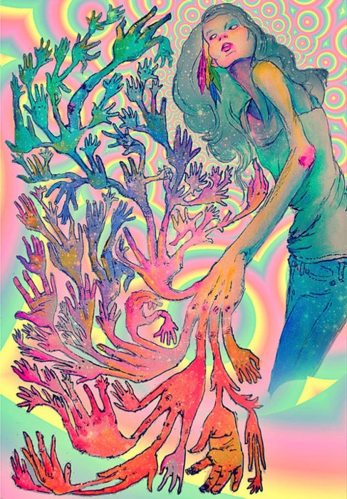 17 best images about trippy on pinterest trips tie dye for Trippy house music