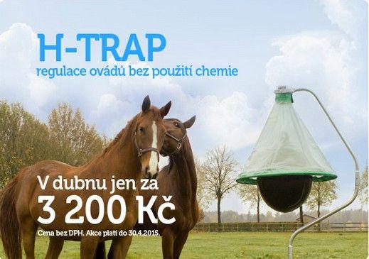 Nový systém H-trap účinně reguluje stavy ovádů a redukuje je na naprosté minimum. H-trap je určen k instalaci ve venkovních podmínkách, kde funguje bez použití chemických látek nebo elektrické energie. Rozsáhlé nezávislé studie prokázaly, že lze dosáhnout redukce stavů ovádů o 90-95% v oblastech chráněných systémem H-trap.