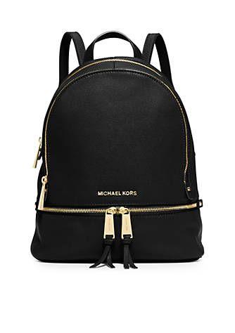 MICHAEL Michael Kors Rhea Zip Medium Backpack in 2019  f74a3c9da6411