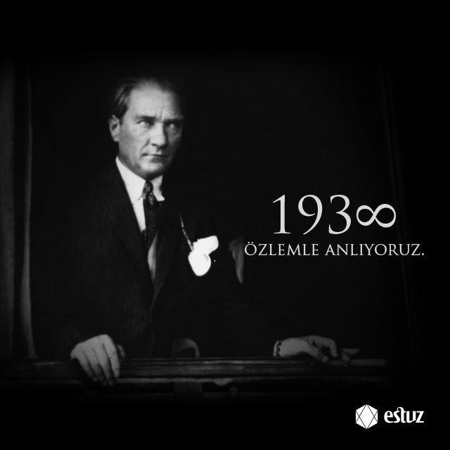 Mustafa Kemal Atatürk'ü özlemle anıyor ve anlıyoruz... #10Kasım