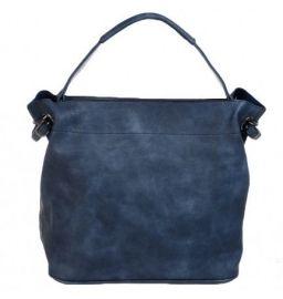 Bag in bag tas met rits blauw