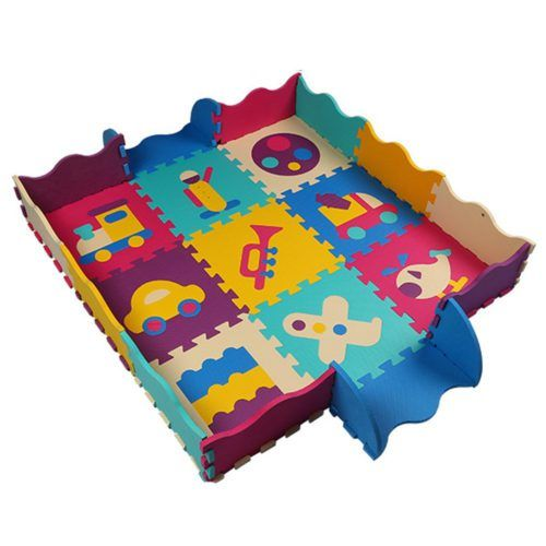 M s de 20 ideas incre bles sobre alfombra de juegos de - Alfombra puzzle ninos ...