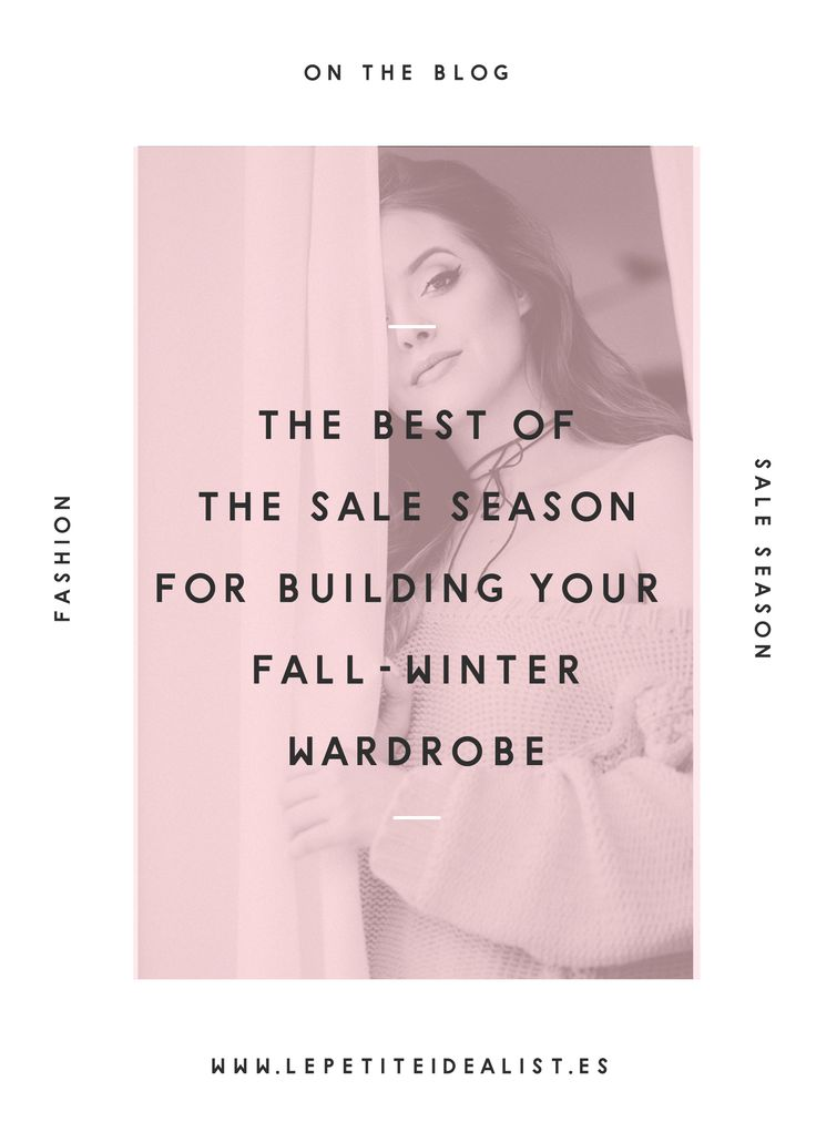 Get your fall and winter basics before the sale season ends! Here's my wishlist of good deals <3