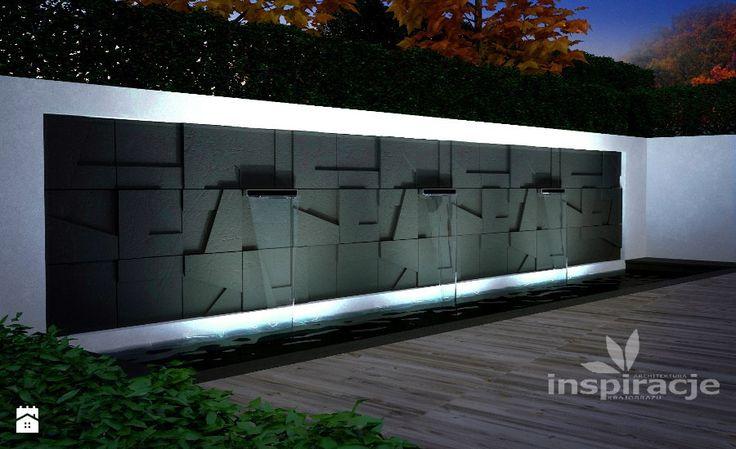 Element wodny w ogrodzie nowoczesnym - zdjęcie od nowoczesne-ogrody - Ogród - Styl Nowoczesny - nowoczesne-ogrody