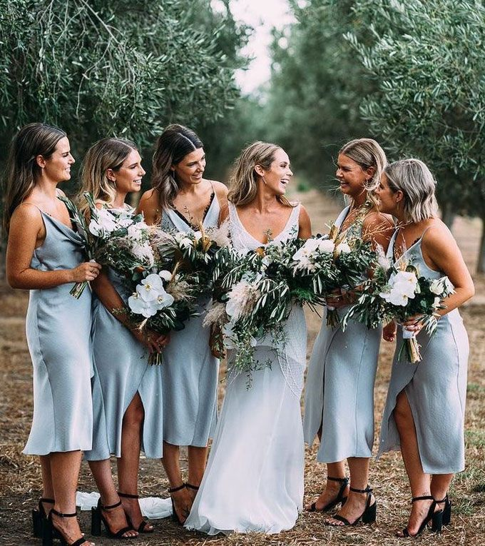 #tealengthbridesmaiddresses #lightbluebridesmaiddresses #dressesforwedding