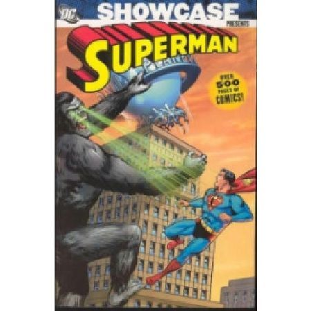 SHOWCASE Presents Superman TP Vol 02 Written by Jerry Coleman Bill Finger and Otto Binder Art by Curt Swan Wayne Boring Al Plastino and Kurt Schaffenberger Cover by Swan  George Klein The second Showcase spotlighting the Silver Age expl http://www.MightGet.com/january-2017-13/showcase-presents-superman-tp-vol-02.asp