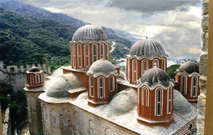 Άγιον Όρος, Ι. Μονή Ξενοφώντος - Mount Athos, Holy Monastery of Xenophontos