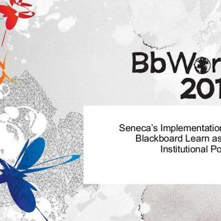 Seneca's Implementation of Blackboard Learn as an Institutional Portal   Introductions Seneca College of Applied Arts & Technology Toronto, Ontario  D. http://slidehot.com/resources/senecas-implementation-of-blackboard-learn-as-an-institutional-portal-at-bbworld-10.52327/