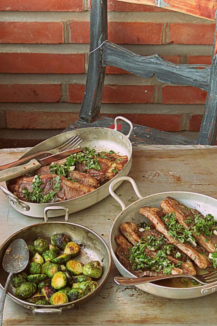 Karitsan Parikyljykset // Lamb chops & Lemon Sauce Food & Style Joonas Laakso, Onko nälkä? Photo Joonas Laakso www.maku.fi