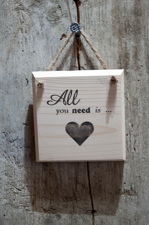 """All you need is Love """