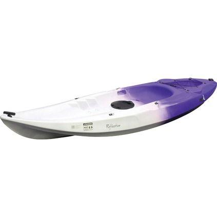 Glide Reflection Sit On Top Kayak - Purple/White