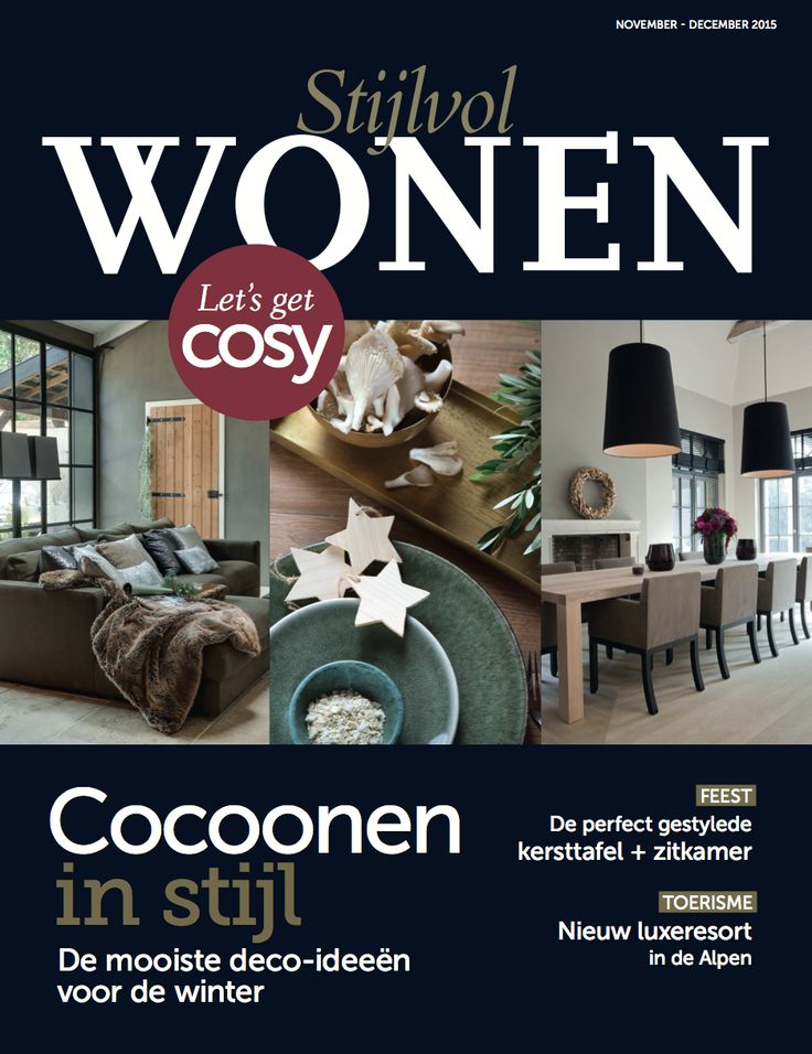 Stijlvol Wonen November December 2015 Layout DesignNovember