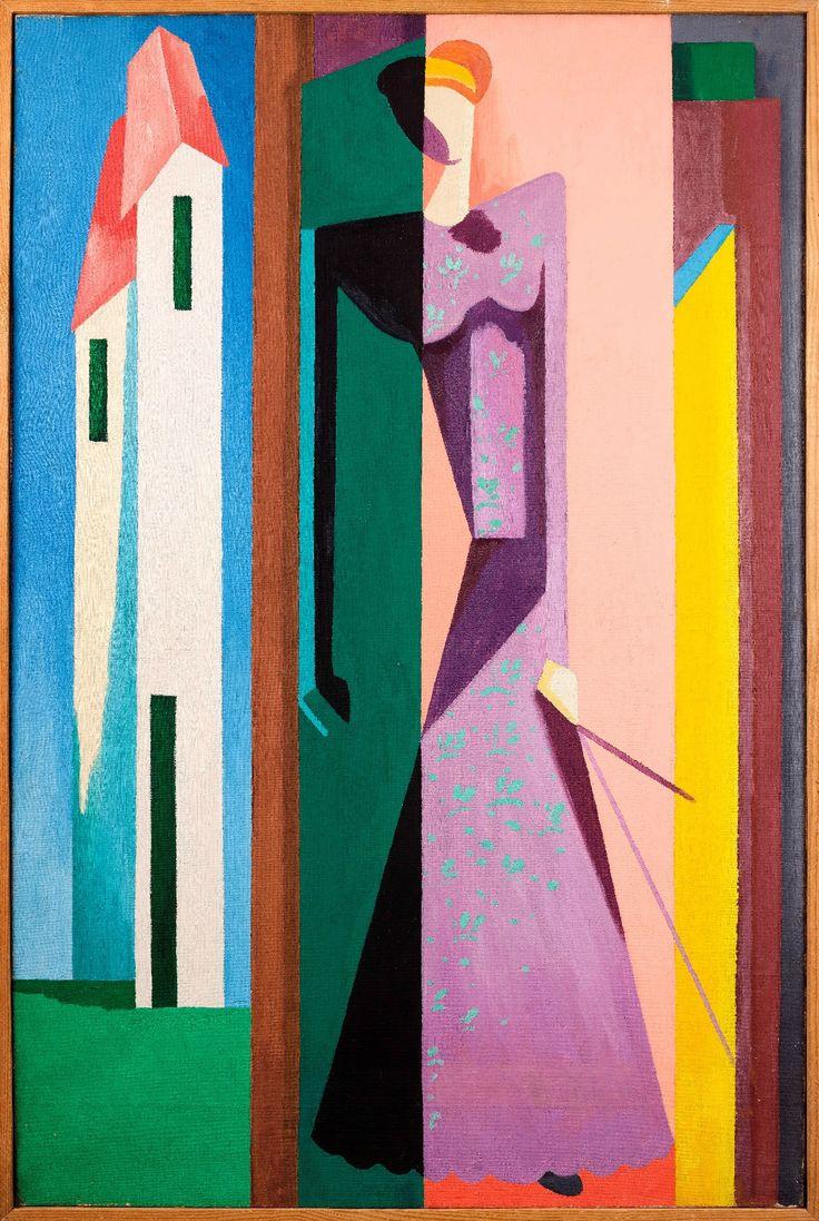 Alberto MAGNELLI (1888 - 1971), L'Attente, 1917.