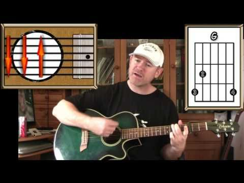 ▶ California Dreaming - The Mamas And Papas - Acoustic Guitar Lesson (easy-ish) - YouTube