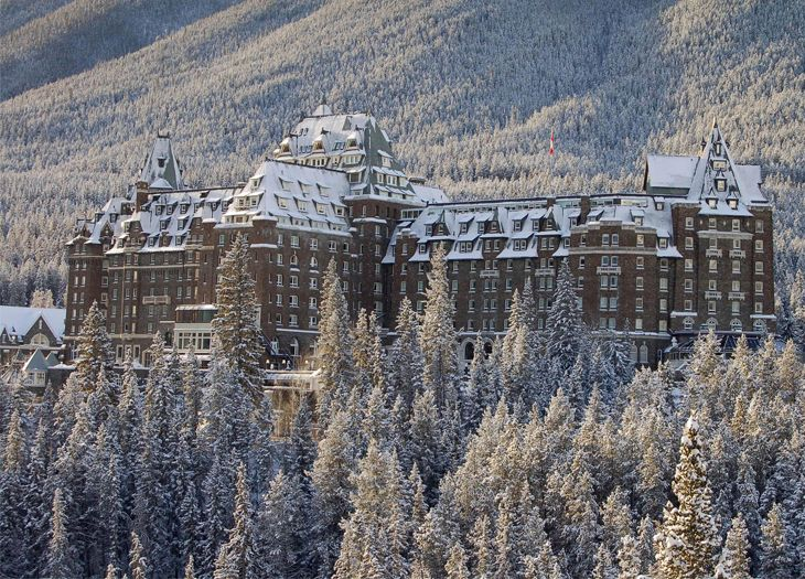 Winter At The Fairmont Banff Springs