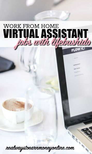 work at home virtual assistant opportunity with lifebushido