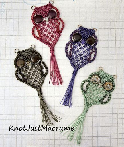 How to DIY Adorable Macrame Owls (Video) | www.FabArtDIY.com LIKE Us on Facebook ==> https://www.facebook.com/FabArtDIY