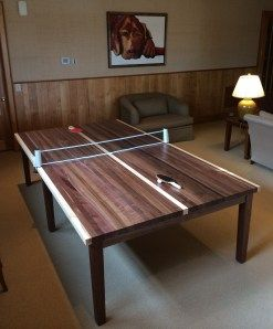 Ping Pong table (also dining table) made in Georgia